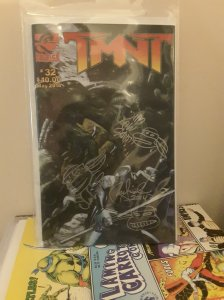 TMNT 32 signed by Peter Laird, Steve Lavigne & Jim Lawson