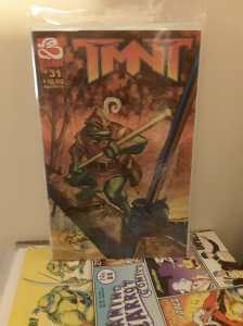 TMNT 31 signed by Peter Laird & Steve Lavigne
